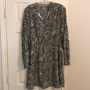 H&M long sleeve short dress